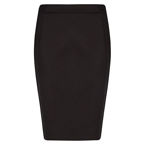 Buy Mango Cotton Suit Skirt, Black Online at johnlewis.com