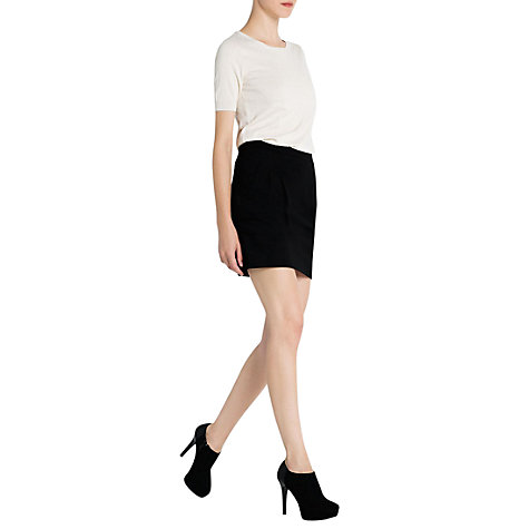 Buy Mango Pleated Mini Skirt Online at johnlewis.com