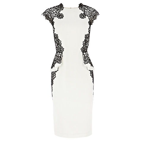 Buy Coast Ashton Dress, Monochrome Online at johnlewis.com