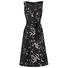 Buy Phase Eight Lila Dress, Black/Almond Online at johnlewis.com
