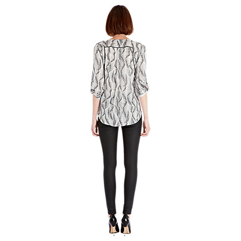 Buy Warehouse Graphic Print Blouse Online at johnlewis.com