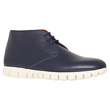 Buy KG by Kurt Geiger Lincoln Leather Desert Boots Online at johnlewis.com