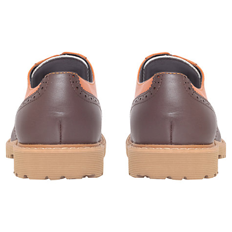 Buy KG by Kurt Geiger Oundle Triple Leather Brogue Oxford Shoes Online at johnlewis.com
