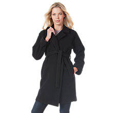 Buy Seraphine Catherine Coat, Black Online at johnlewis.com