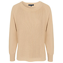Buy French Connection Otter Knits Jumper, Camel Online at johnlewis.com