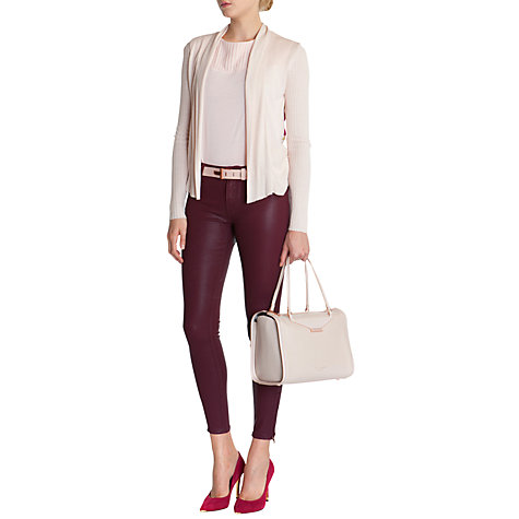 Buy Ted Baker Linne Fortys Cardigan, Pink Online at johnlewis.com