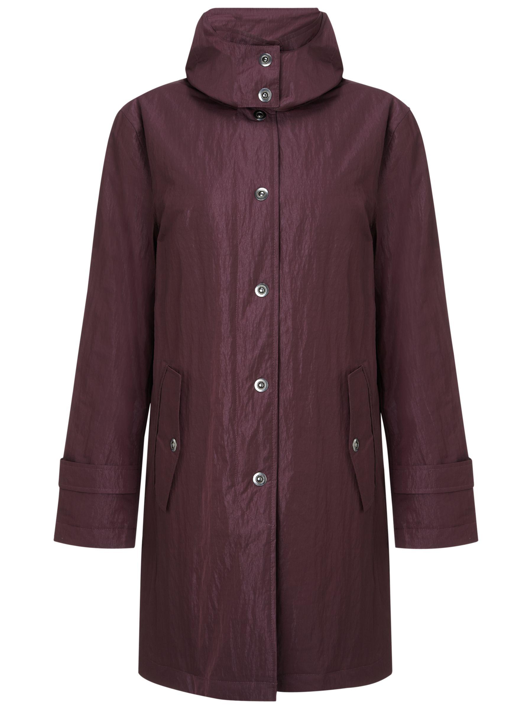 Four Seasons Hooded Caban Rain Coat