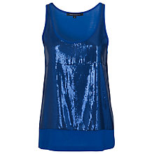 Buy French Connection Youth Quake Vest, Blue Online at johnlewis.com