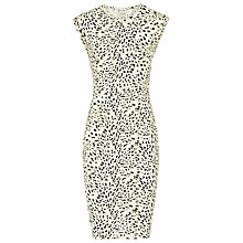 Buy Reiss Print Jersey Day Dress, Multi Online at johnlewis.com