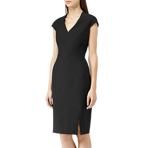 Buy Reiss Abbi Fay Tailored Dress, Black Online at johnlewis.com