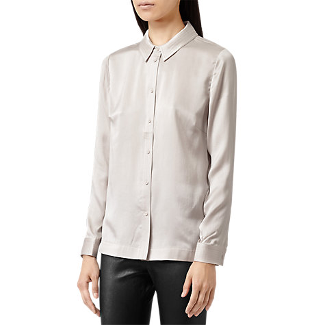 Buy Reiss Dahlia Top Stitching Shirt Online at johnlewis.com