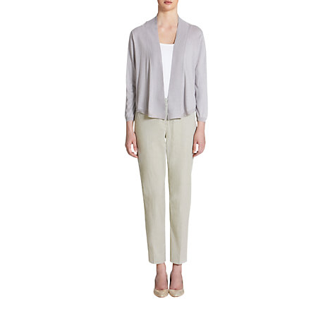 Buy Jigsaw Silk Mix Short Cardigan Online at johnlewis.com