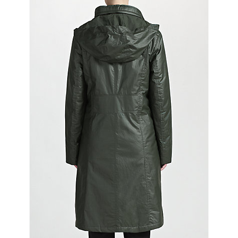 Buy Four Seasons 3/4 Length Funnel Coat, Pine Online at johnlewis.com