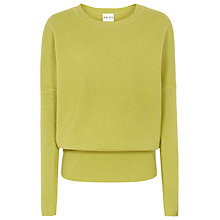 Buy Reiss Lewes Rib Jumper, Absinthe Online at johnlewis.com