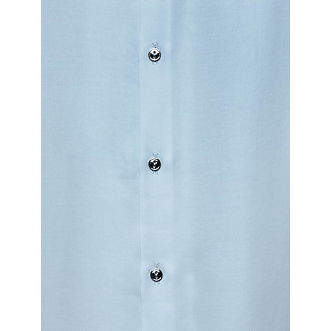 Buy Reiss Eleanor Button Back Top, Ice Blue Online at johnlewis.com