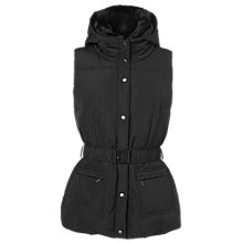 Buy Phase Eight Giselle Gilet, Black Online at johnlewis.com