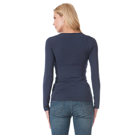 Buy Séraphine Long Sleeved Adele Top Online at johnlewis.com