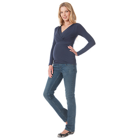 Buy Seraphine Long Sleeved Adele Top Online at johnlewis.com