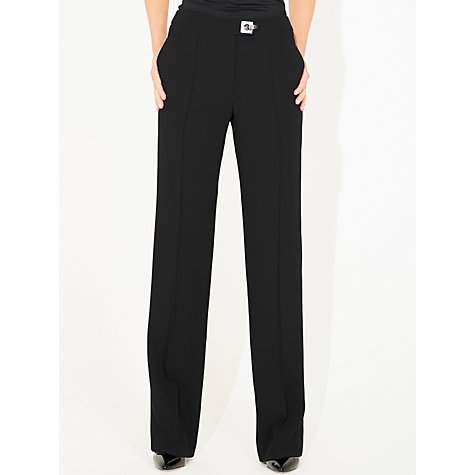 Buy Damsel in a dress Amber Noir Tailored Trousers, Black Online at johnlewis.com