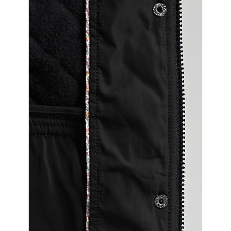 Buy Four Seasons Belted Quilted Jacket, Black Online at johnlewis.com