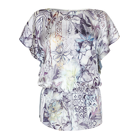 Buy Damsel in a dress Portofino Top, Grey Online at johnlewis.com
