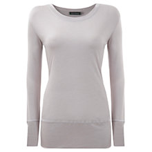 Buy Mint Velvet Layering T-shirt, Purple Online at johnlewis.com