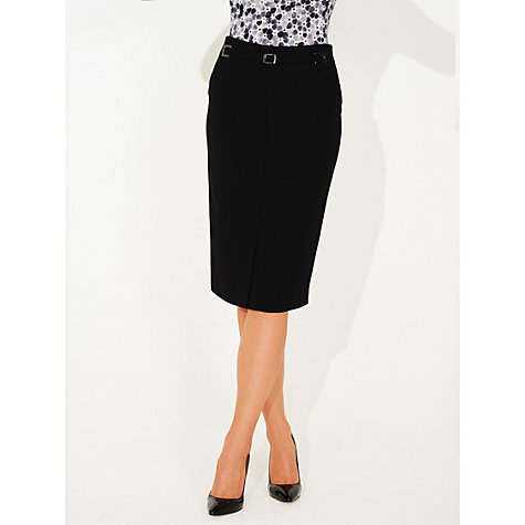 Buy Damsel in a dress Amber Noir Pencil Skirt, Black Online at johnlewis.com