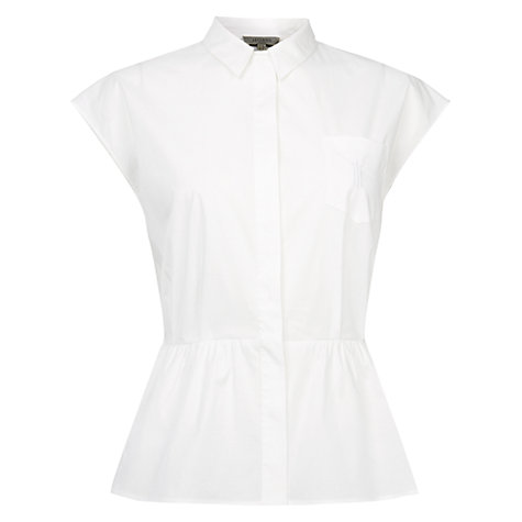 Buy Hobbs Ella Top, White Online at johnlewis.com