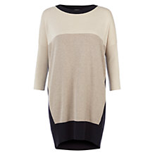 Buy Hobbs Sass Sweater, Parchment/Multi Online at johnlewis.com