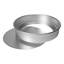 Buy Delia Online Satin Hard Anodised Sponge Tin, Dia.20cm Online at johnlewis.com