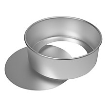 Buy Delia Online Satin Hard Anodised Cake Tins Online at johnlewis.com