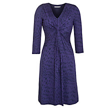 Buy John Lewis Capsule Collection Pebble Print Dress, Purple Online at johnlewis.com