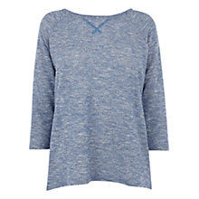 Buy Oasis Sparkle Raglan Top Online at johnlewis.com