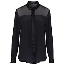 Buy French Connection Glacier Shirt, Black Online at johnlewis.com
