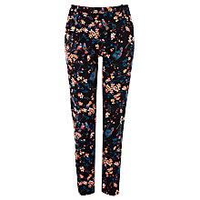 Buy Oasis Audrey Oriental Slim Trousers, Multi Online at johnlewis.com
