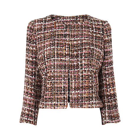Buy L.K. Bennett Tamara Tweed Jacket Online at johnlewis.com