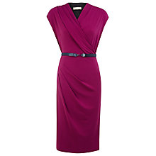 Buy Planet Belted Dress, Red Online at johnlewis.com