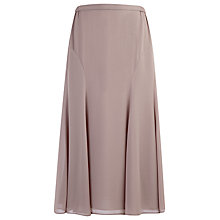 Buy Jacques Vert Chiffon Skirt, Mink Online at johnlewis.com