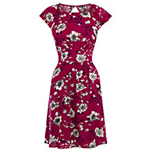 Buy Warehouse Wallpaper Floral Dress Online at johnlewis.com