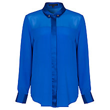 Buy French Connection Glacier Shirt, Electric Blue Online at johnlewis.com