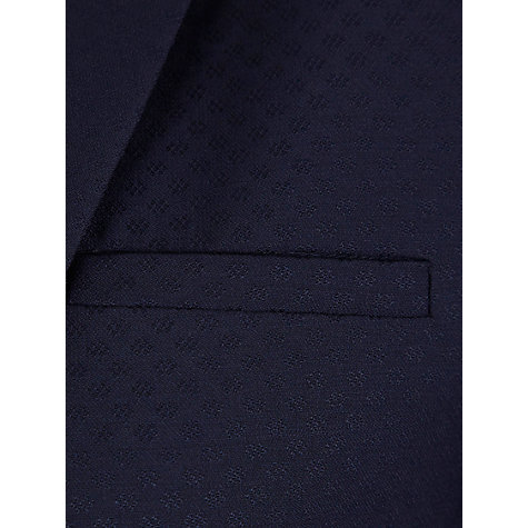 Buy NW3 by Hobbs Geo Jacquard Jacket, French Navy Online at johnlewis.com