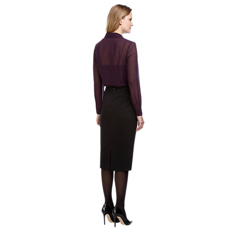 Buy Planet Pencil Skirt, Black Online at johnlewis.com
