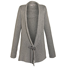 Buy Sandwich Drawstring Button Jacket, Grey Online at johnlewis.com
