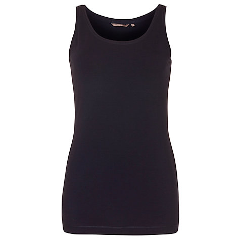 Buy Sandwich Scoop Neck Vest, Dark Blue Online at johnlewis.com