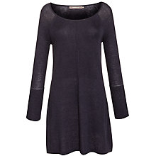 Buy Sandwich Long-Sleeve Knitted Dress, Dark Blue Online at johnlewis.com
