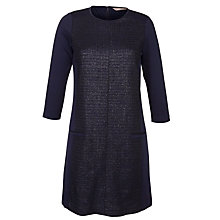 Buy Sandwich Jersey Tweed Panel Dress Online at johnlewis.com