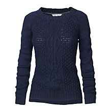 Buy Fat Face Astrid Cable Jumper Online at johnlewis.com