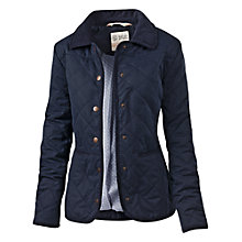 Buy Fat Face Milly Quilted Jacket, Navy Online at johnlewis.com
