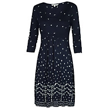 Buy Fat Face Rose Dress, Navy Online at johnlewis.com