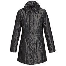 Buy Gerry Weber Panel Side Coat, Anthracite Online at johnlewis.com
